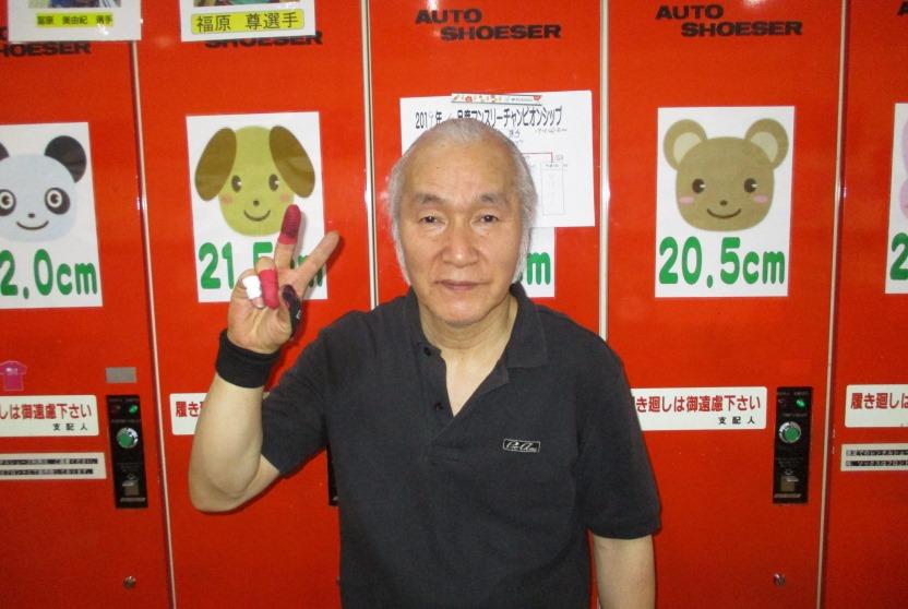 5月度マンスリーチャンピオン - 中垣 治三 選手
