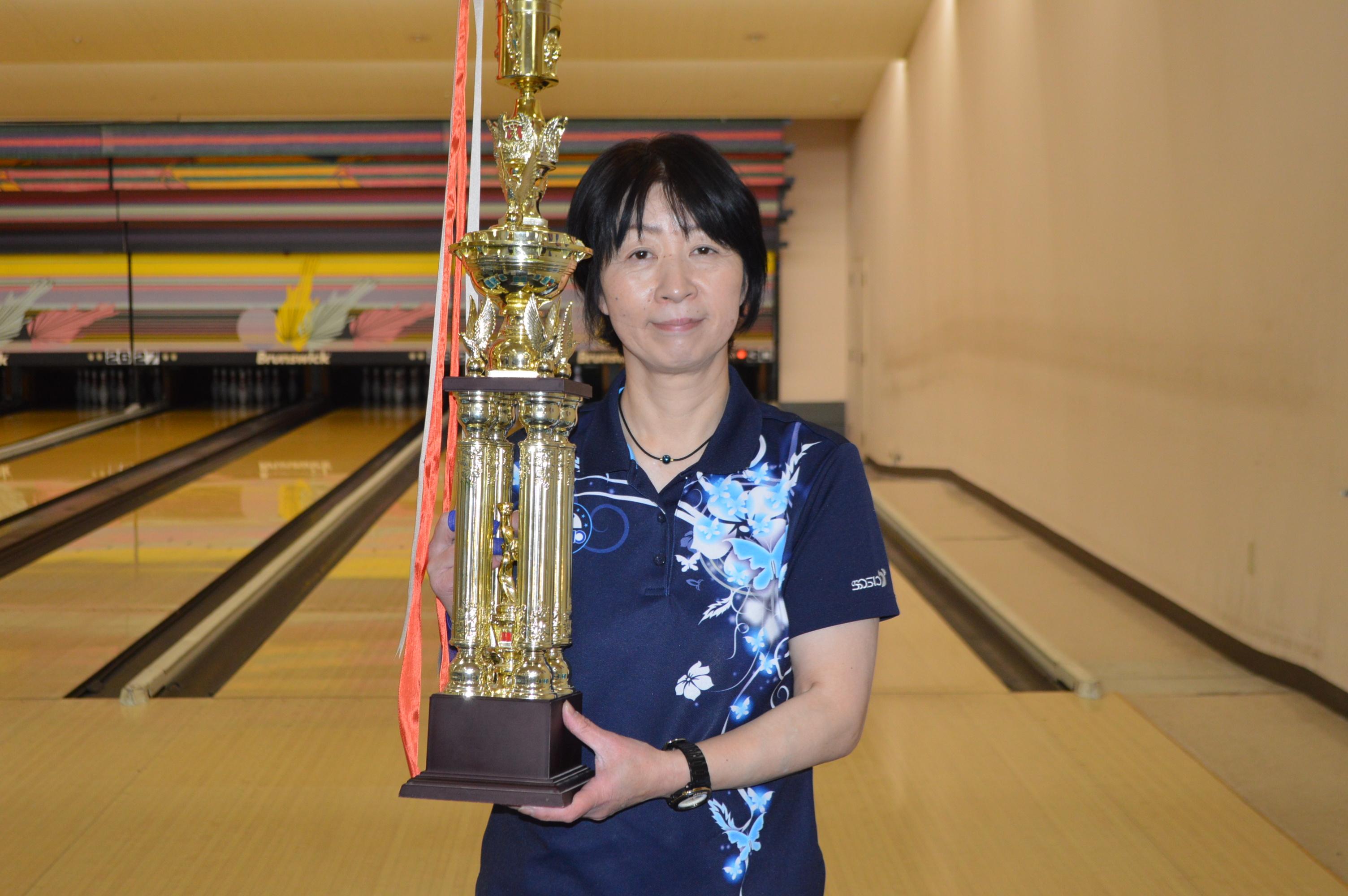 2月度マンスリーチャンピオン - 上田 弘子選手