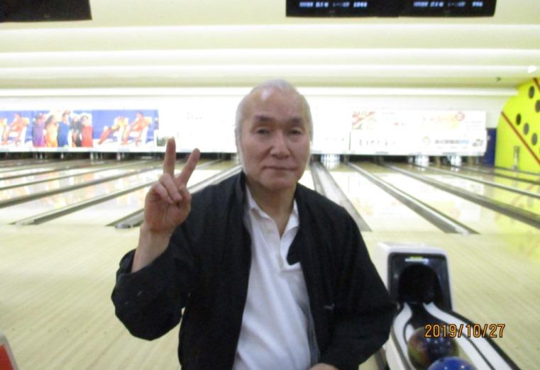 10月度マンスリーチャンピオン - 中垣 治三 選手