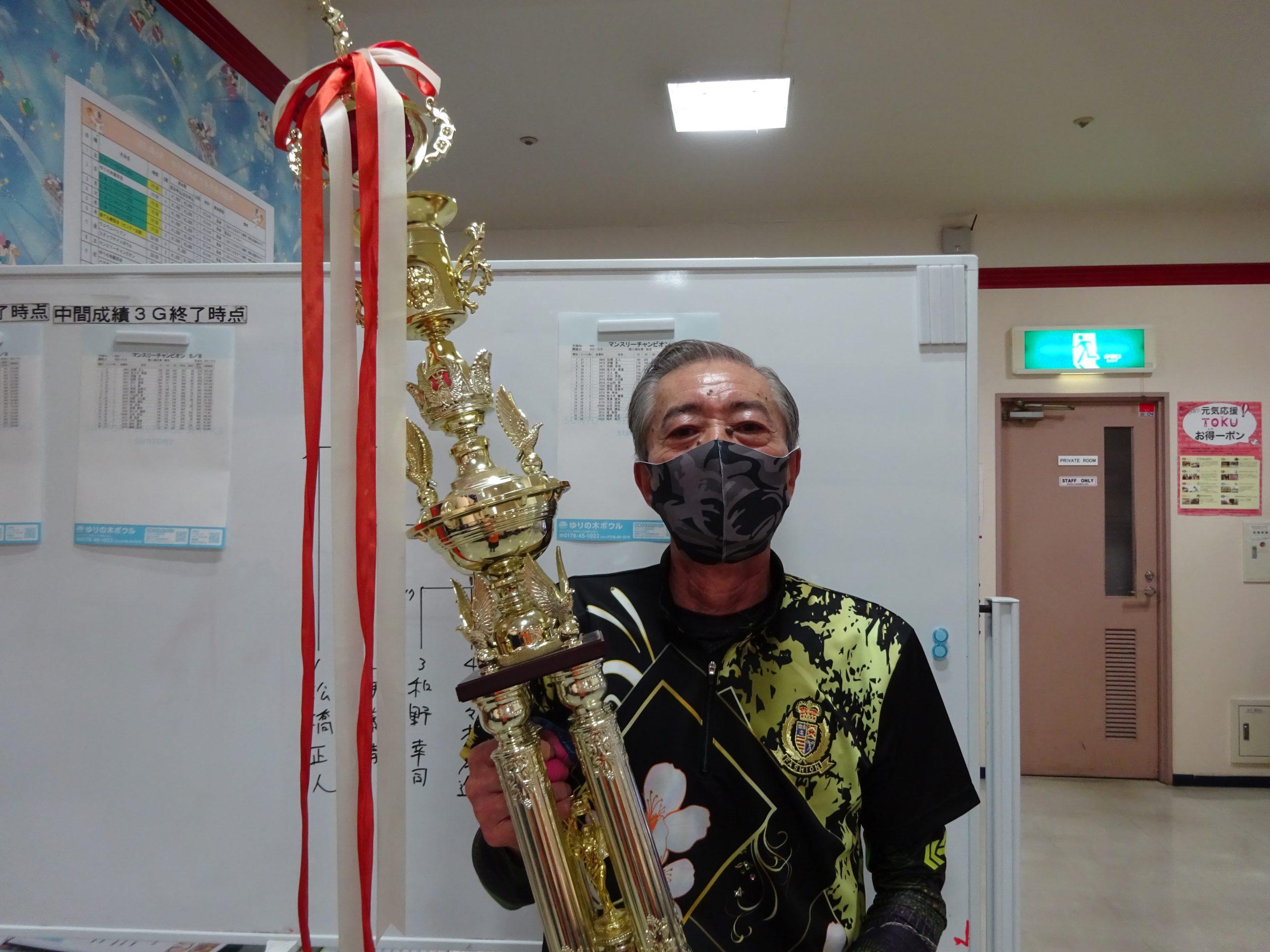 4月度マンスリーチャンピオン - 松橋 正人選手