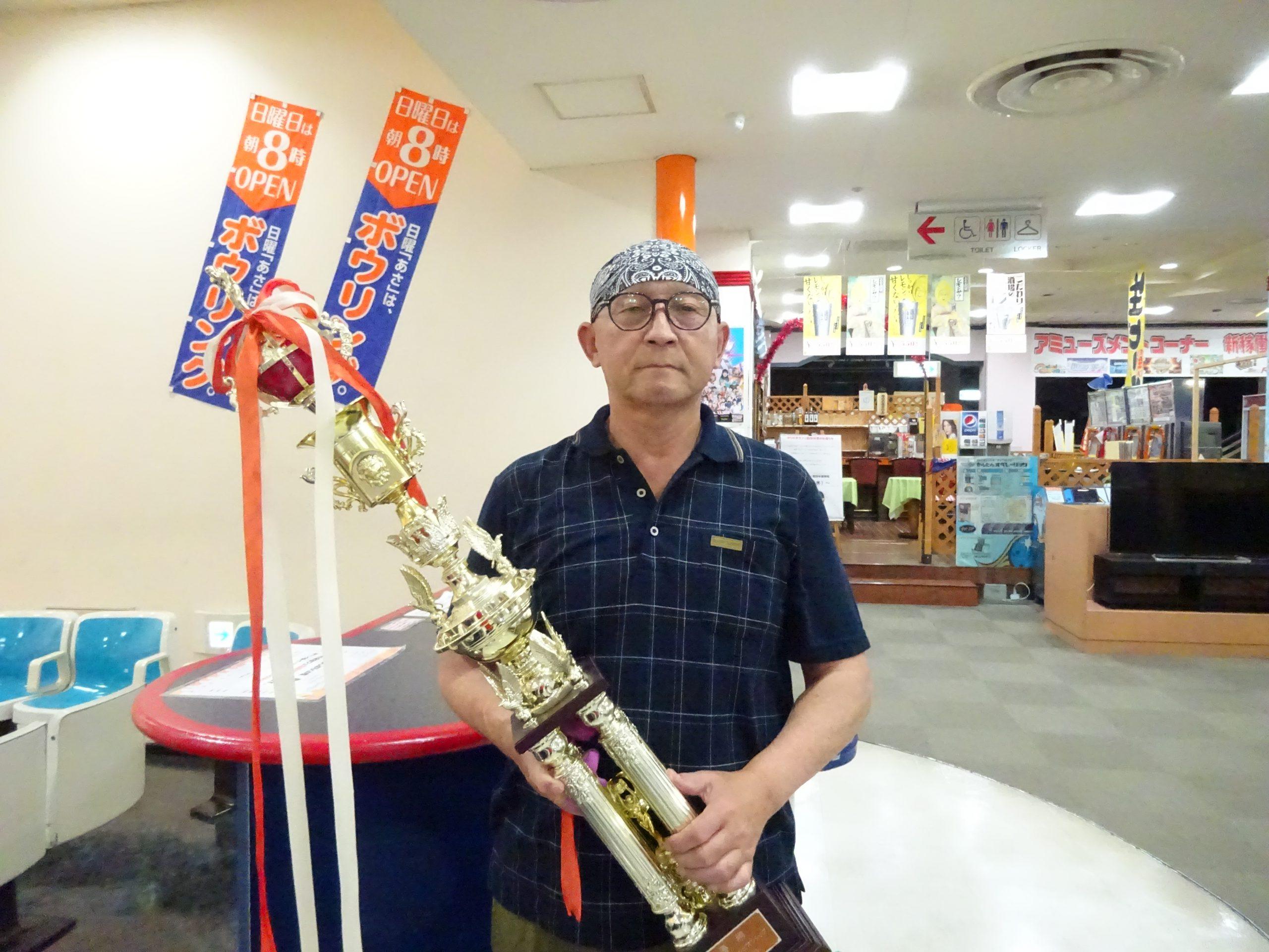 8月度マンスリーチャンピオン - 伊藤 淳選手